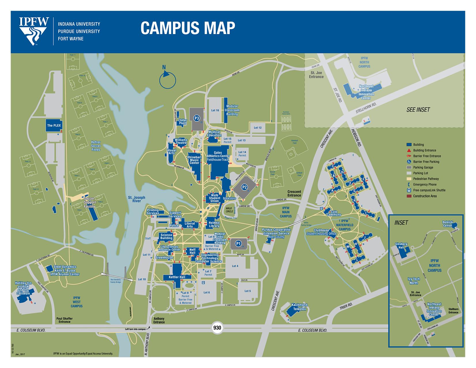 Interactive Campus Map Ua.University Of Alabama Campus Map Cielo Vista Mall Map