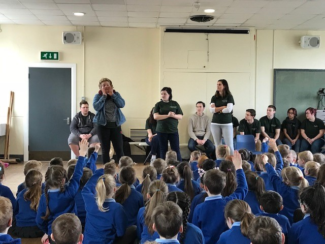 Ireland 2018 school assembly