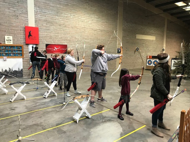 Elite Archery range in Bangor