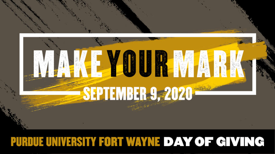 Purdue Fort Wayne Day of Giving - April 29, 2020