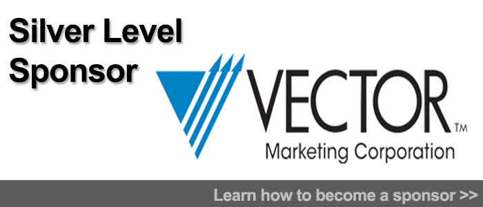 Vector Marketing banner silver