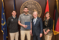 Purdue University Fort Wayne Basketball Standout Honored by City