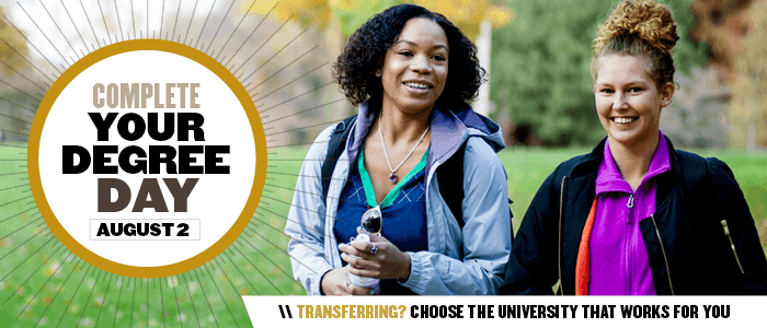 Complete Your Degree Day 2018 - Admissions - Transfer