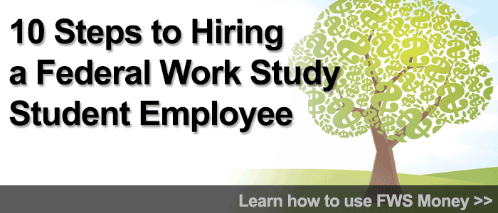 Federal Work Study banner