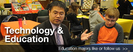 Technology and Education Banner