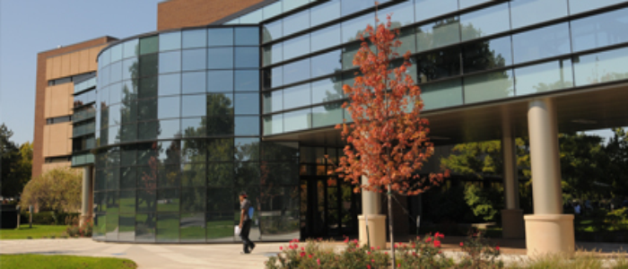 Outdoors - Learning Commons and Helmke Library