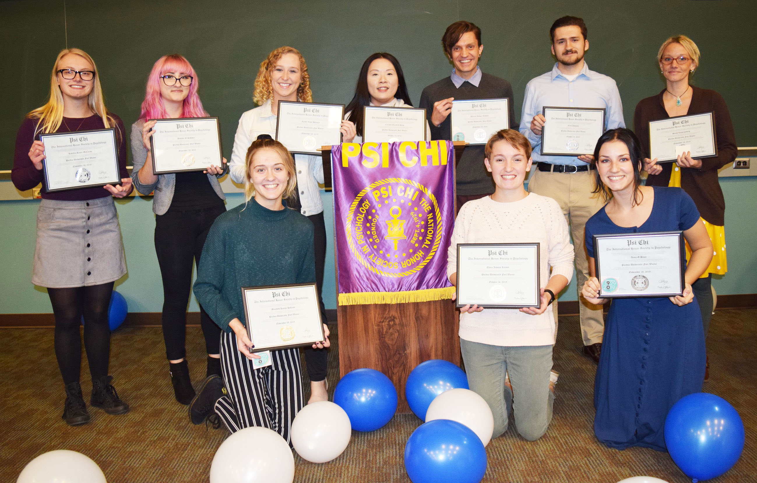 Psi Chi Induction Ceremony 111819