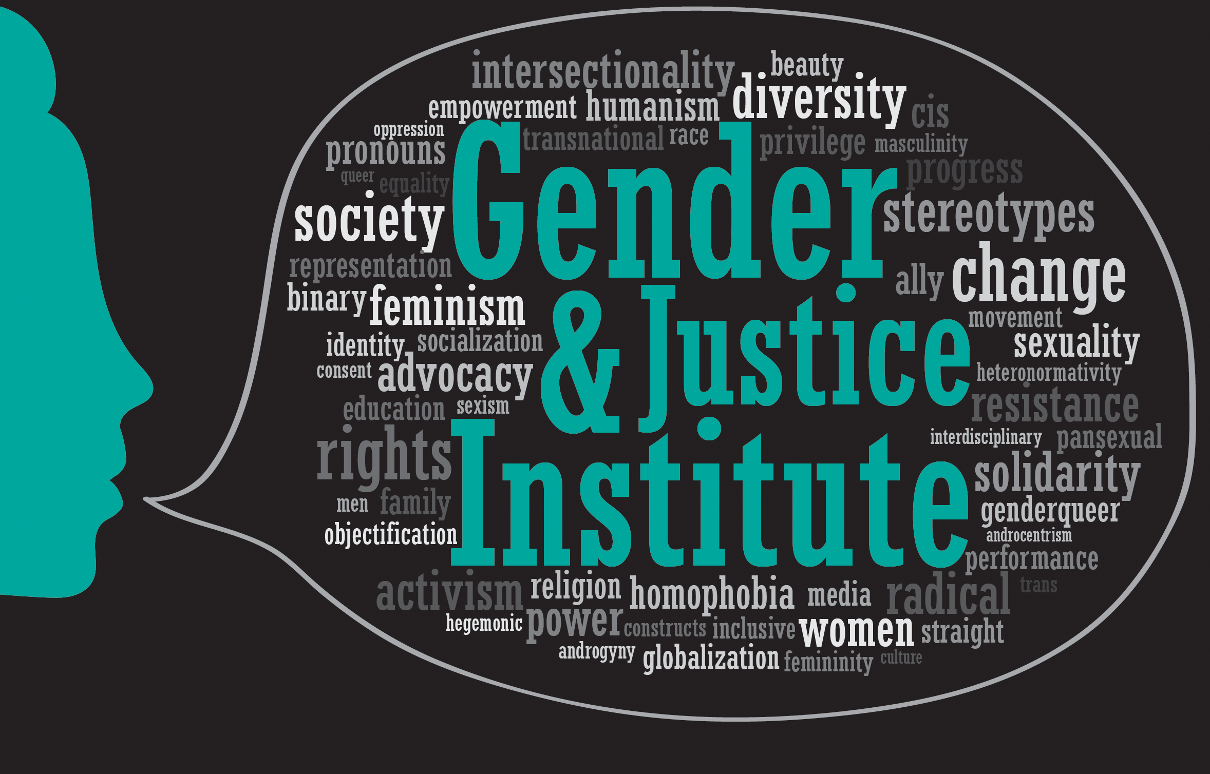 Gender and Justice Graphic Logo