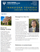 Connectivity Newsletter - Fall 2014