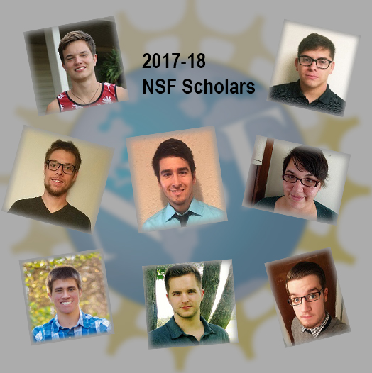 picture of 2017-18 NSF Scholars