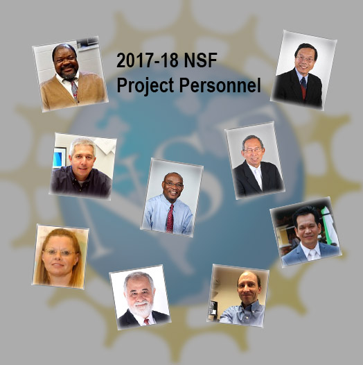picture of 2017-18 NSF Project Personnel