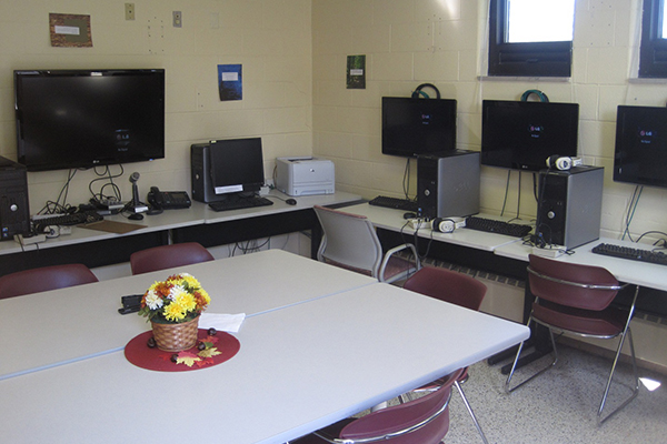 Photo of the technology used in the IPFW Community Counseling Center.