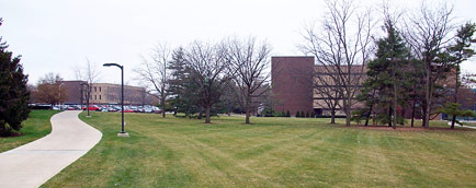 The Library Lawn (Facing Helmke Library)