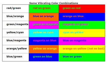 information technology services training color and contrast