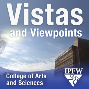 The Vistas and Viewpoints podcast, hosted by Dean Drummond