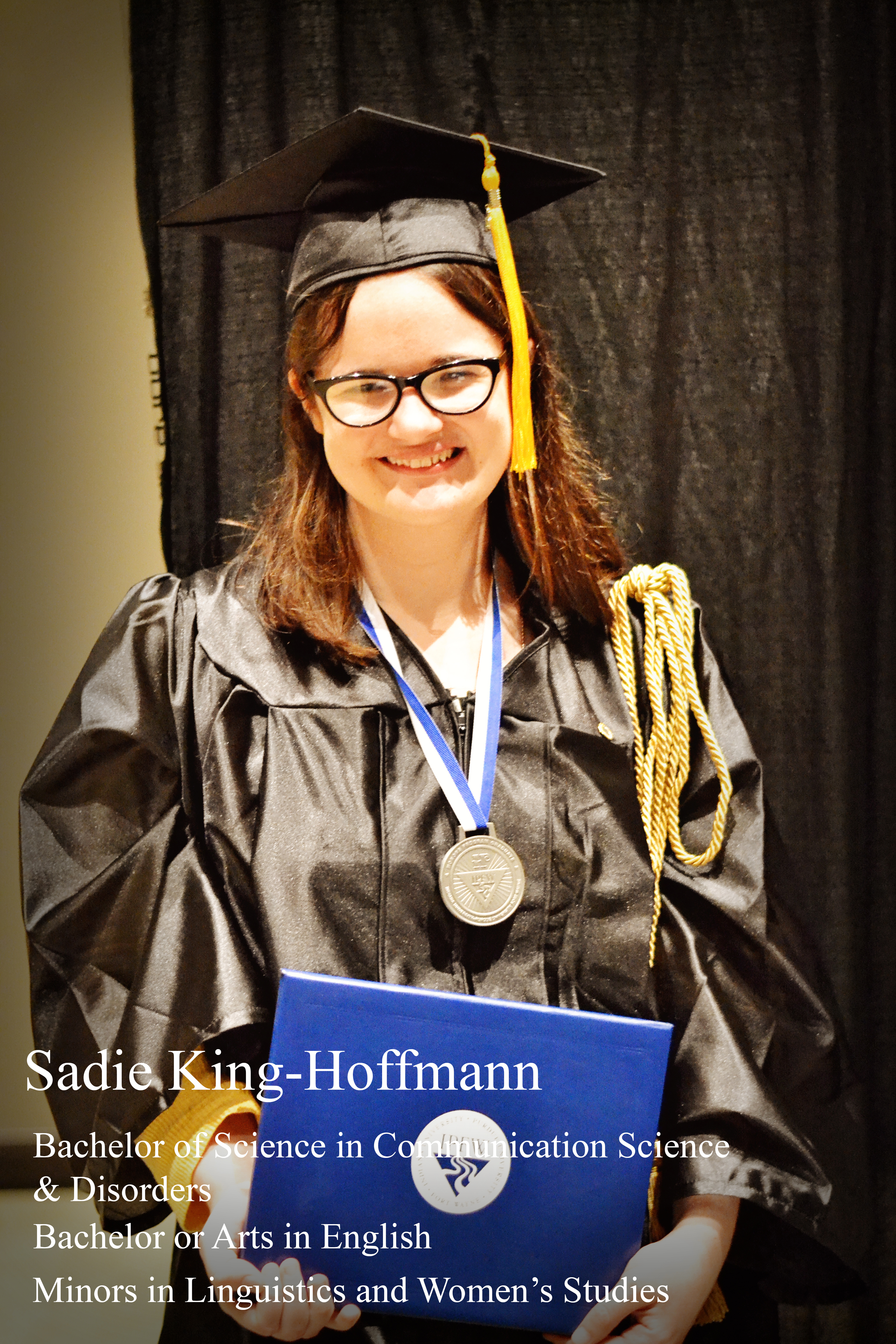 Honors Graduate Sadie King-Hoffmann