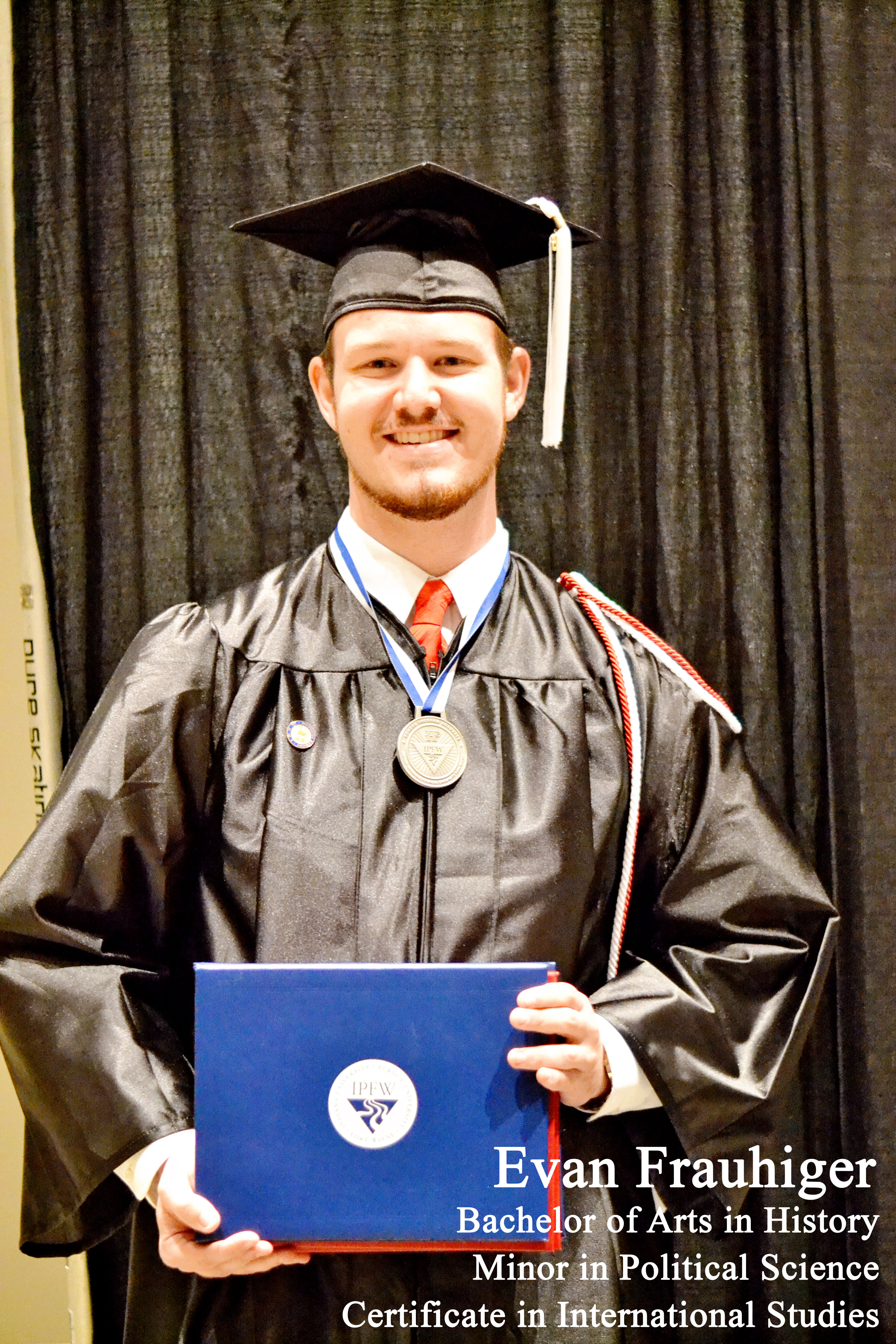 Honors Graduate Evan Frauhiger