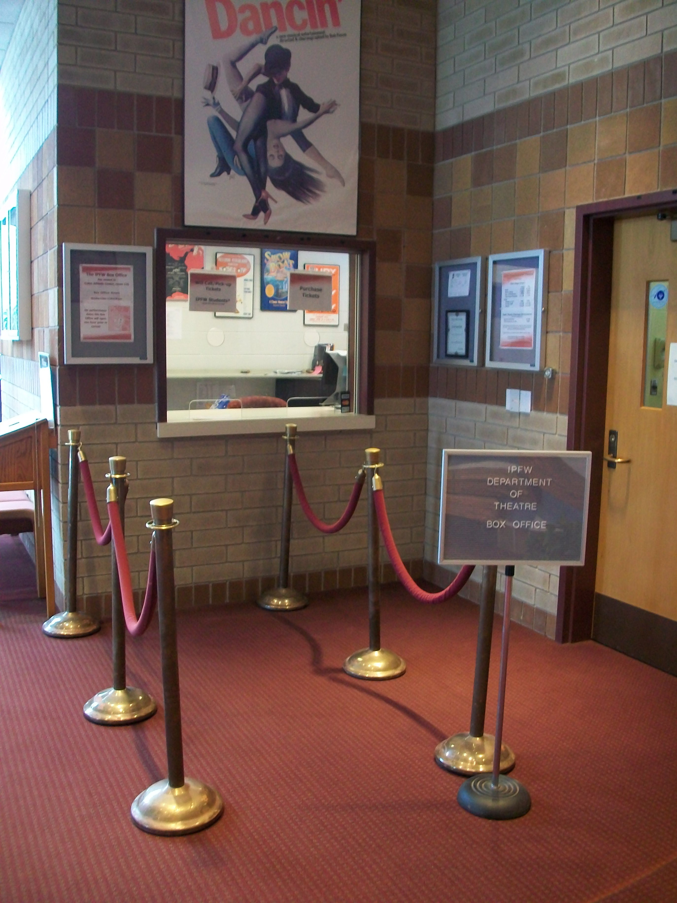 Williams Theatre Box Office