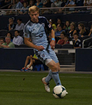 Jacob Peterson IPFW Alum Playing Soccer