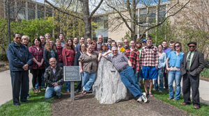 Geosciences students and faculty Spring 2015