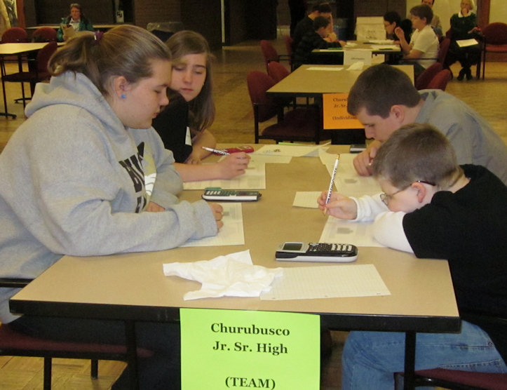 IPFW MathCounts 2014 - photo by LW