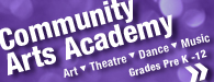 Community Art Academy link Art, Theatre & Dance for Pre-K - 12