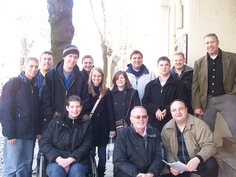 Here is a group shot of the 2011 Mission Team to Bulgaria