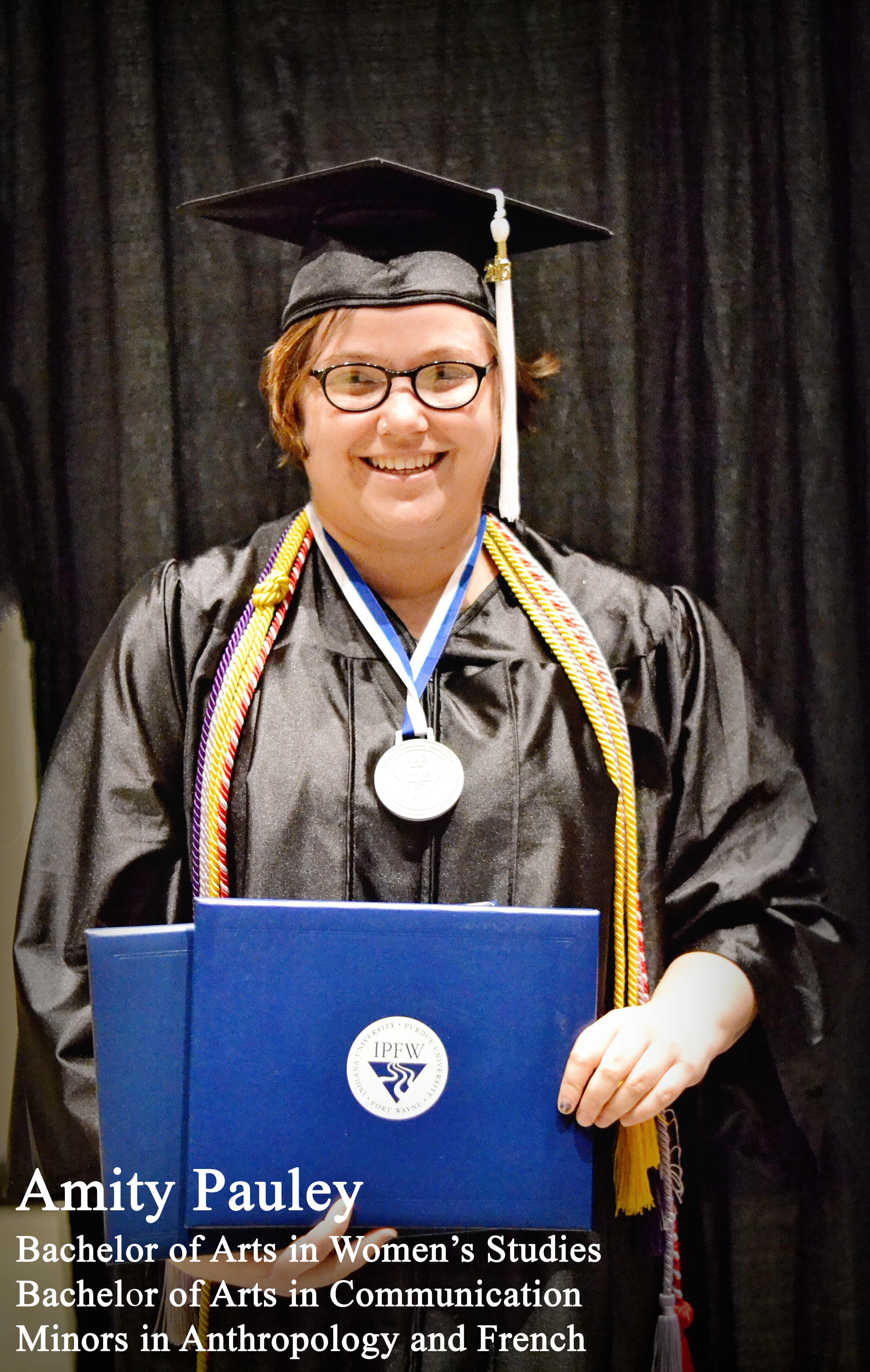 Honors Graduate Amity Pauley