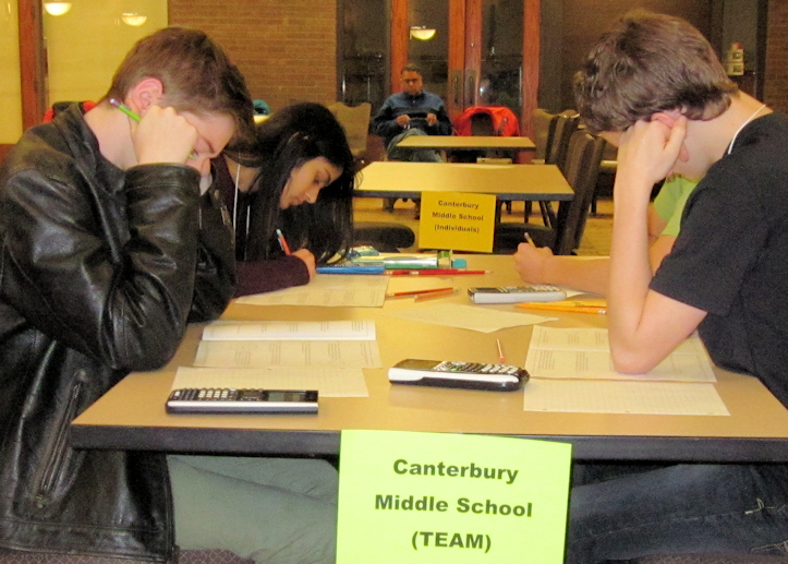 IPFW MathCounts 2015 (photo: LW)