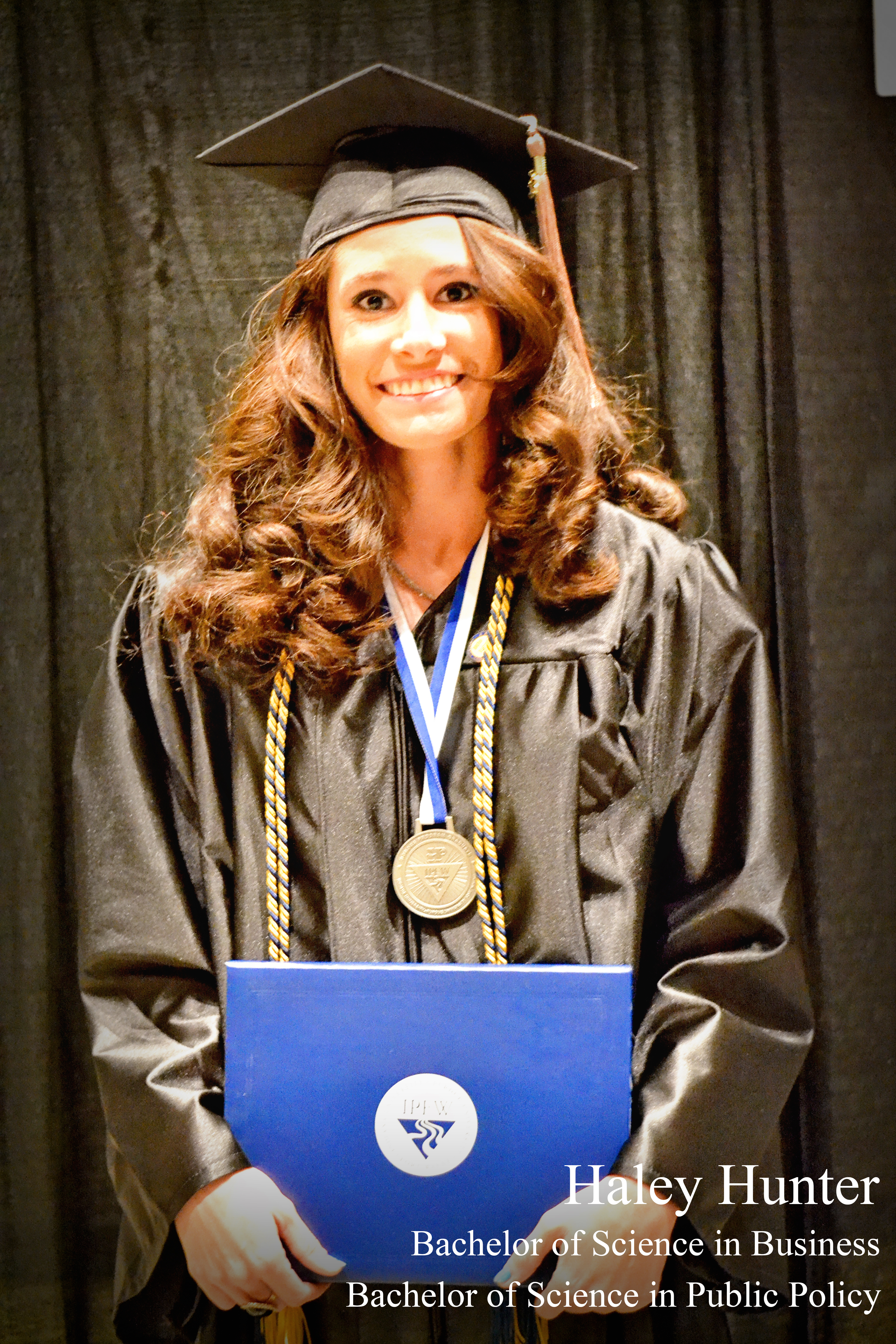 Honors Graduate Haley Hunter