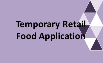 Temporary Event Food Service Application