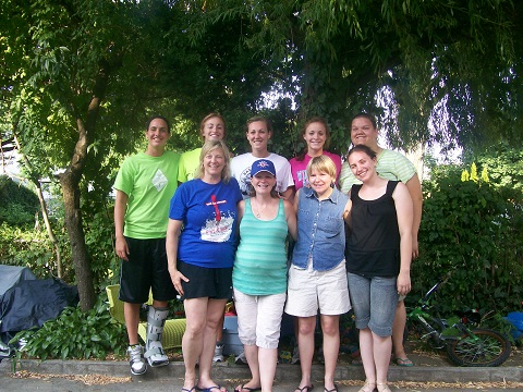 Members of the New York City Summer Mission Team 2011