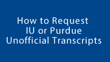 How to Request Unofficial Transcripts