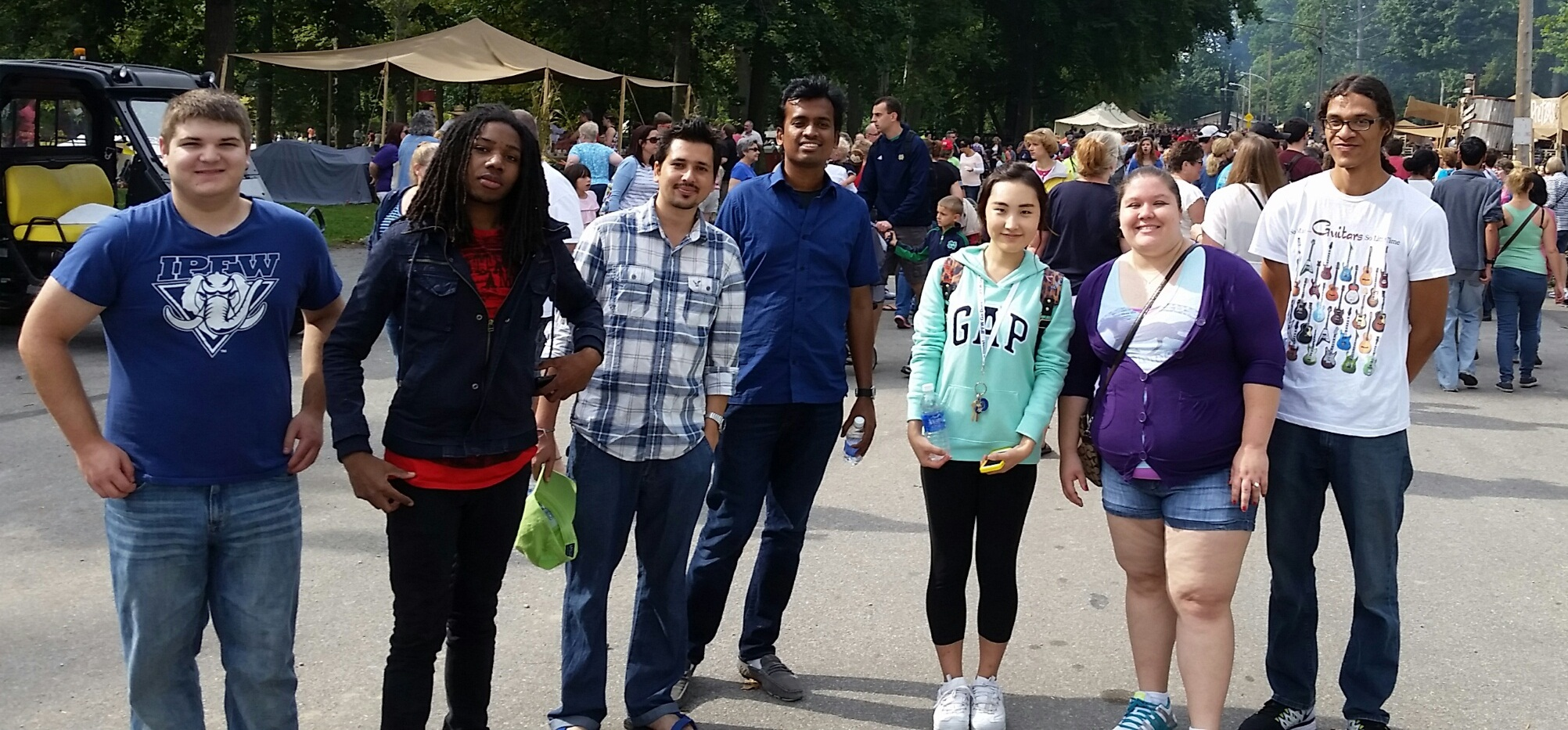 IPFW Students at Johnny Appleseed Festival