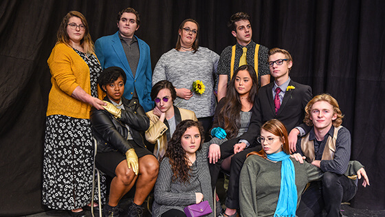 The fairytale cast of Secret in the Wings explores the mysterious world of childhood fantasies.