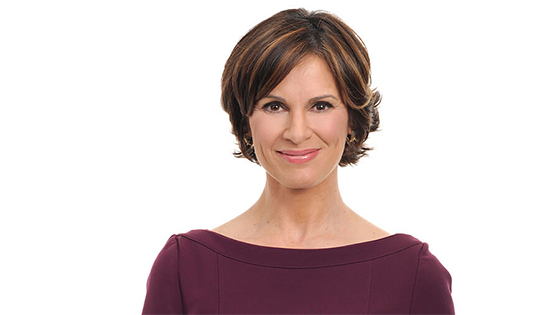 Elizabeth Vargas smiling at the camera