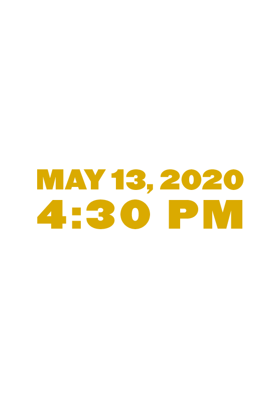 Wednesday, May 13, 2020 at 4:30 p.m. at the Allen County War Memorial Coliseum