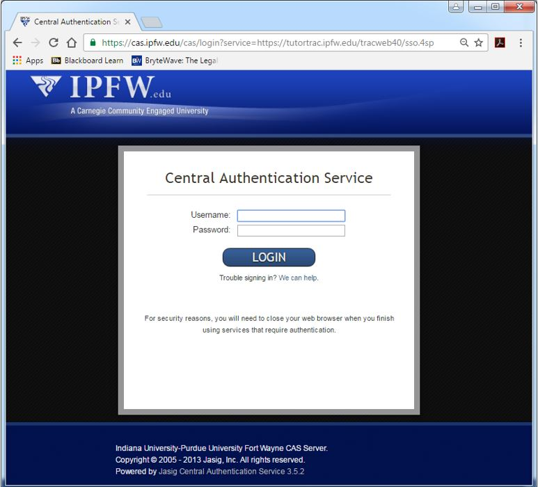 Central Authentication Service