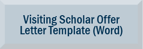 Visiting Scholar Letter Template