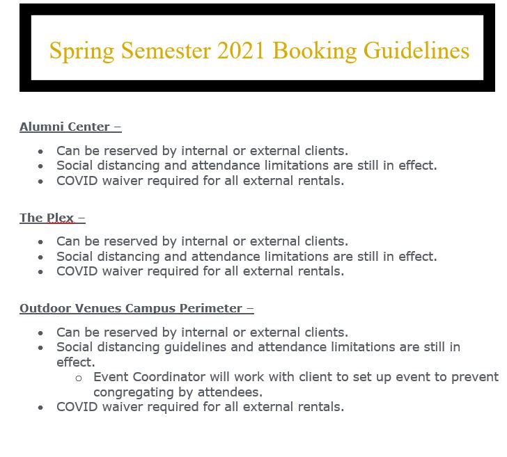 Spring guidelines part 1